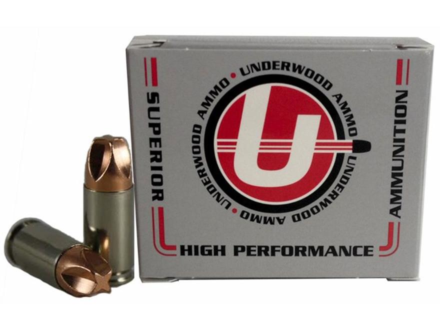 Underwood Xtreme Defender Ammunition 9mm Luger +P+ 90 Grain Lehigh Xtreme Defense Lead-...