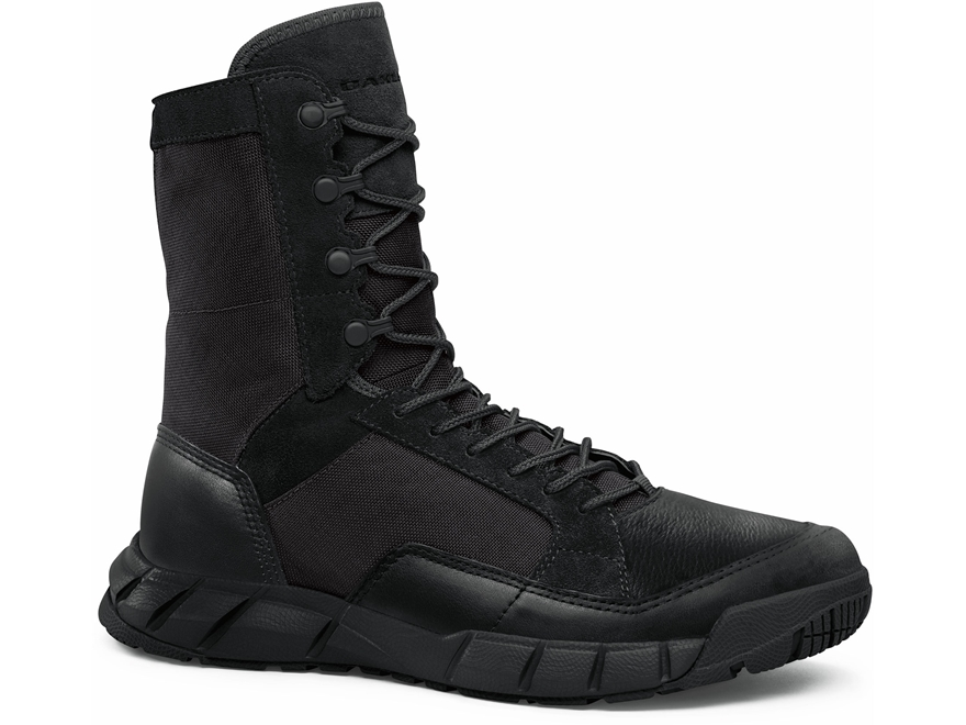 "Oakley SI Light Patrol 8"" Tactical Boots Leather Black Men's"
