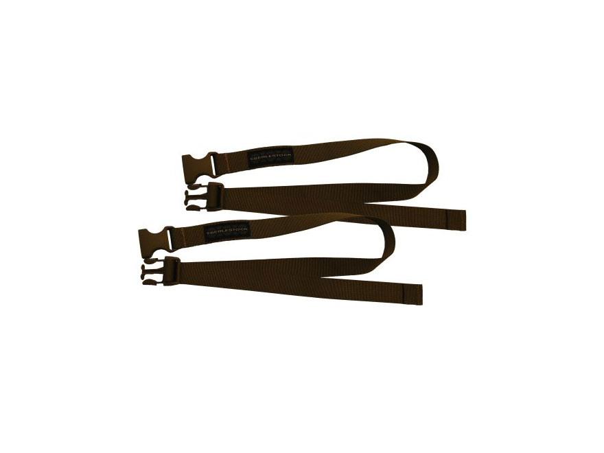 "Eberlestock Acessory Straps 1"" x 24"" Nylon Dry Earth Pack of 2"