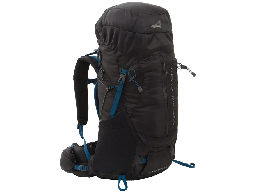 ALPS Mountaineering Wasatch 55 Backpack Polyester Black
