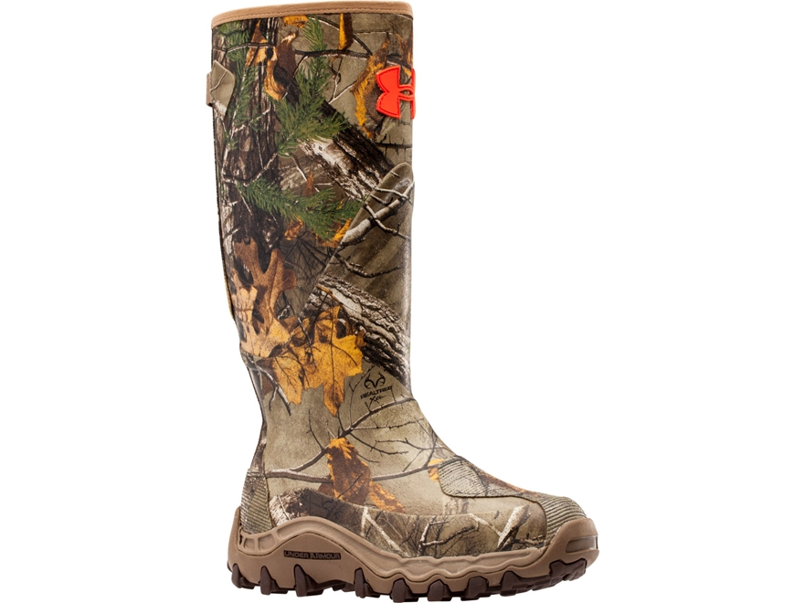 """Under Armour Haw'Madillo 16"""" Waterproof 600 Gram Insulated Hunting Boots Rubber Realtre..."""