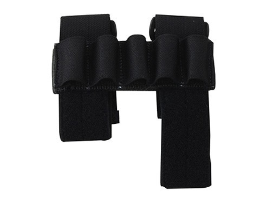 California Competition Works Arm Band Shotshell Ammunition Carrier 12 Gauge Nylon Black