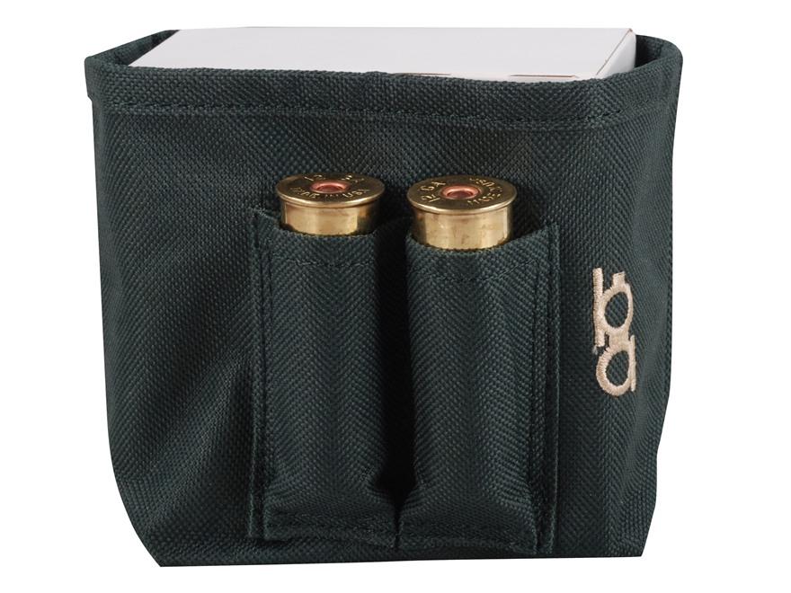 Bob Allen Single Box Shotshell Ammunition Carrier Nylon Green