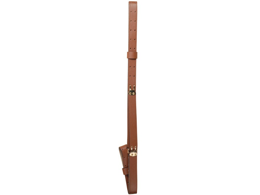 "Butler Creek Military Shooting Sling 1"" Leather Tan"