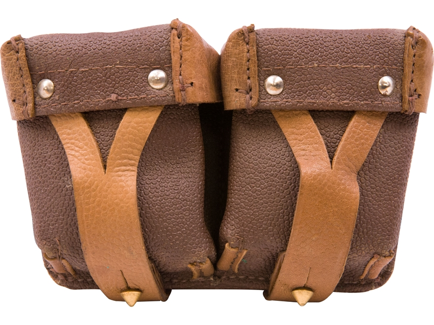 Military Surplus Russian Cartridge Pouch Grade 2 Leather