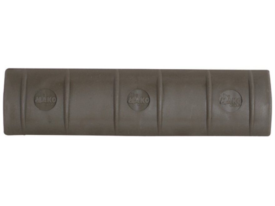 Mako Full Profile Picatinny Rail Cover Long Polymer Olive Drab Package of 3