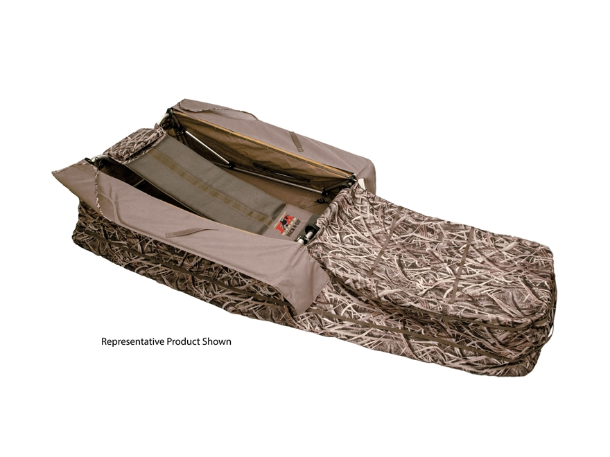 Final Approach Pack N Go Sport Utility Layout Blind Field Brown