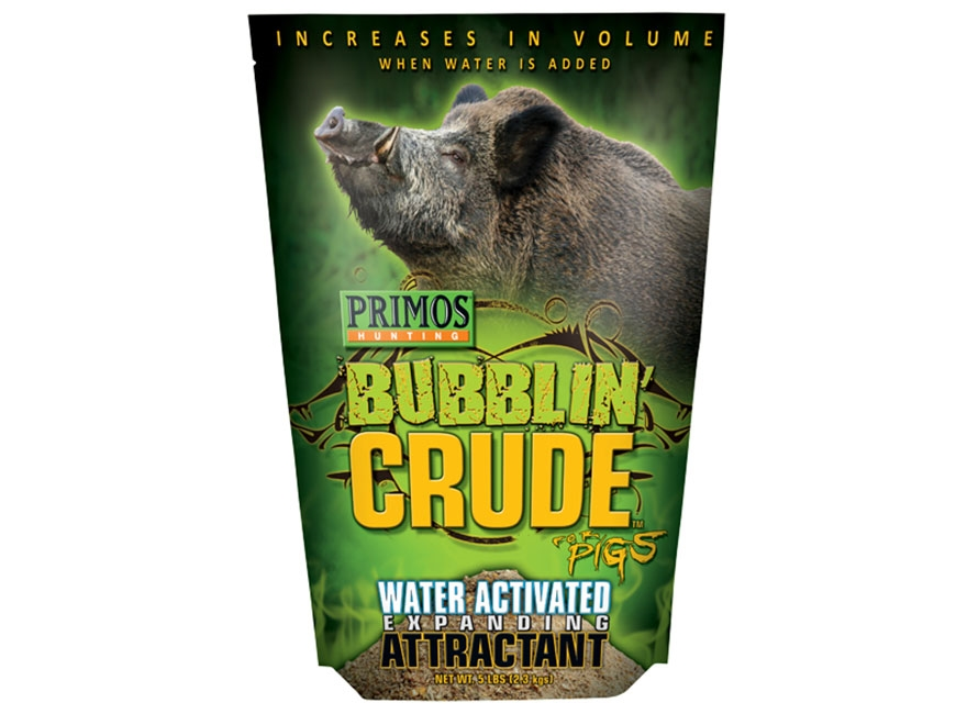 Primos Bubbling Crude Hog Attractant 5 lbs