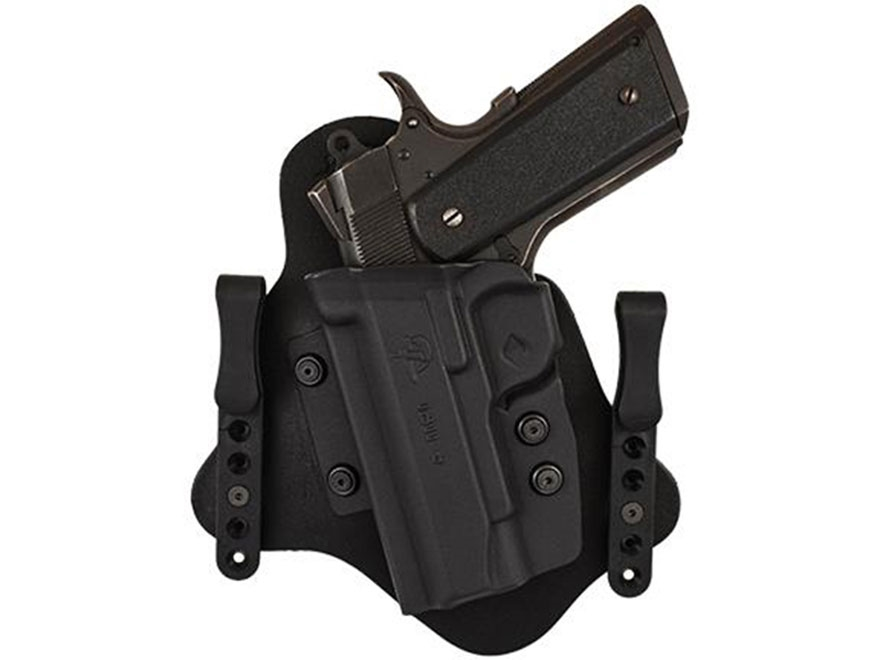 Comp-Tac Spartan Inside the Waistband Holster Glock 43 Kydex Black