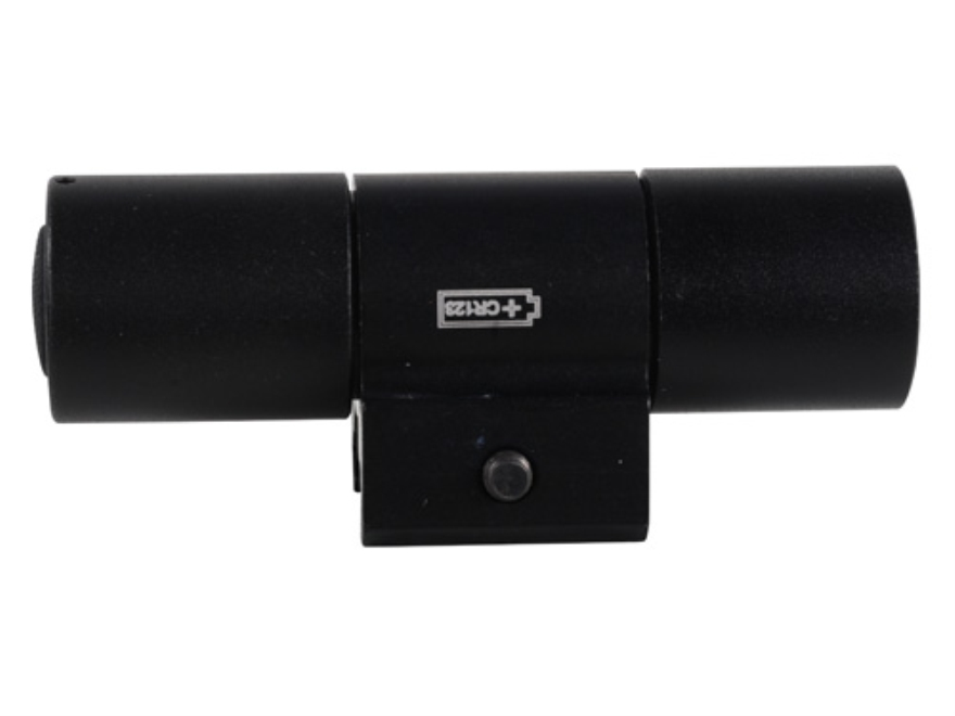 Mako SpeedLight Flashlight LED with I CR123A Battery Picatinny Rail Mount Aluminum Black