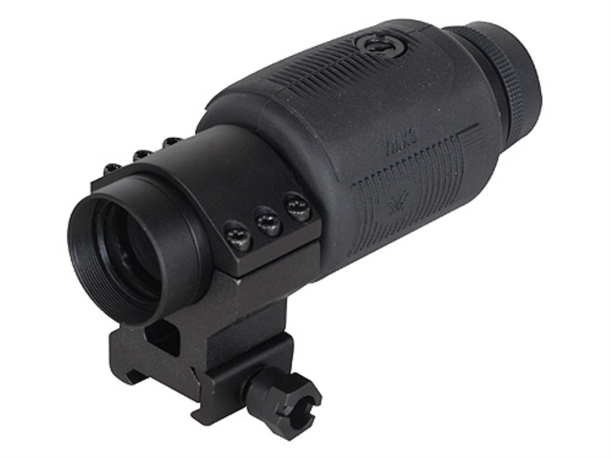 Vortex Optics VXM3 Magnifier 30mm Tube 3x Matte with Ring Mount