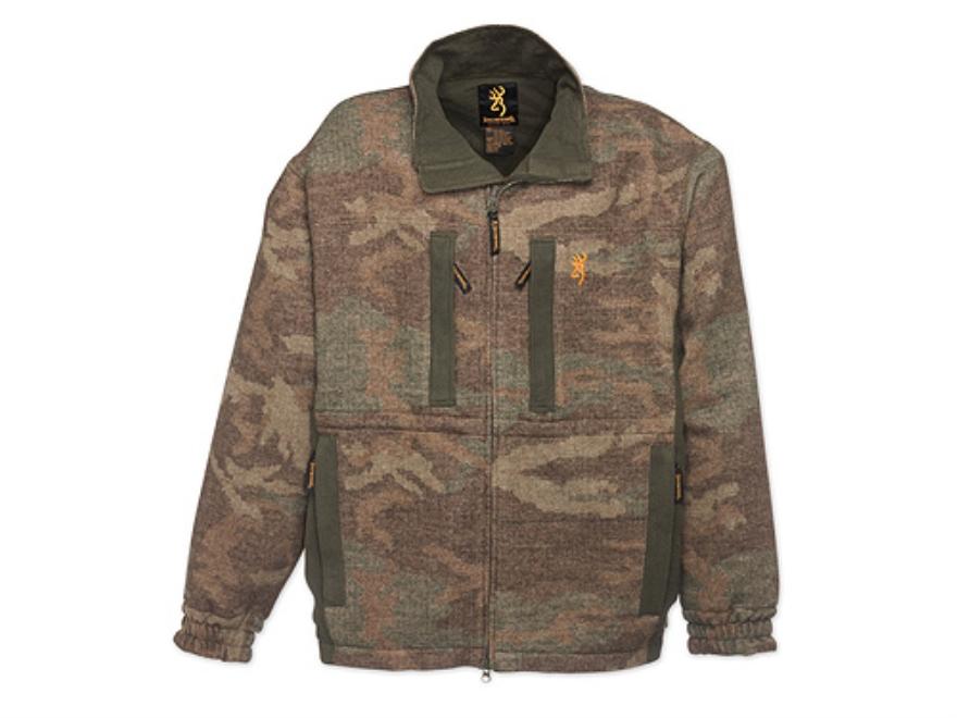 Browning Men's Full Curl Wool Jacket Long Sleeve Wool