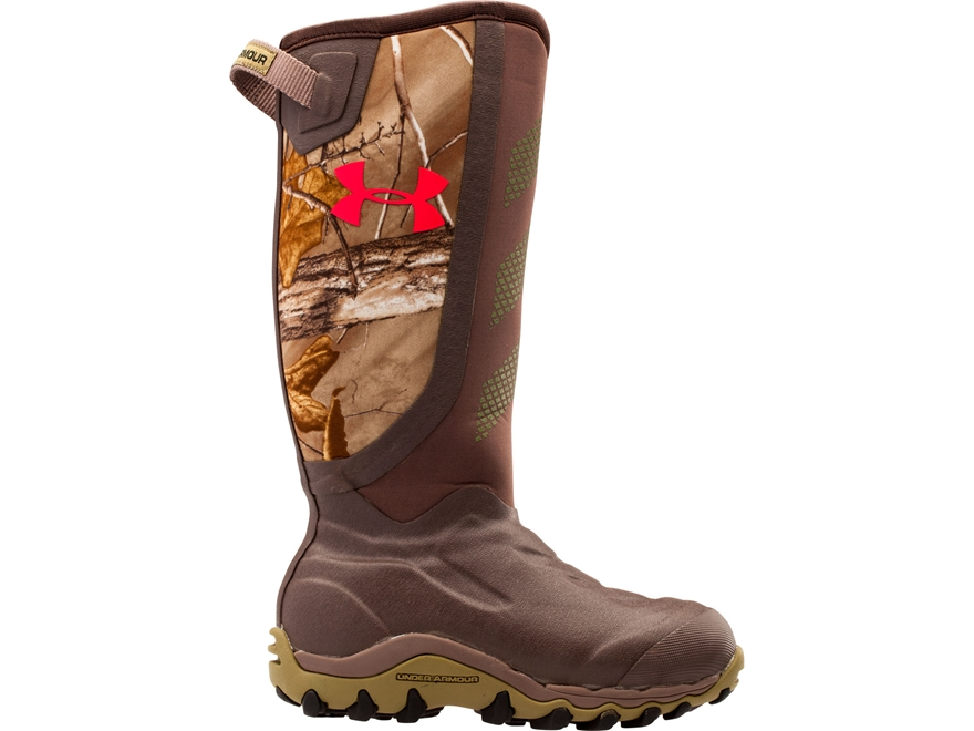 """Under Armour UA Haw 2.0 16"""" 800 Gram Insulated Waterproof Hunting Boots Rubber Realtree..."""