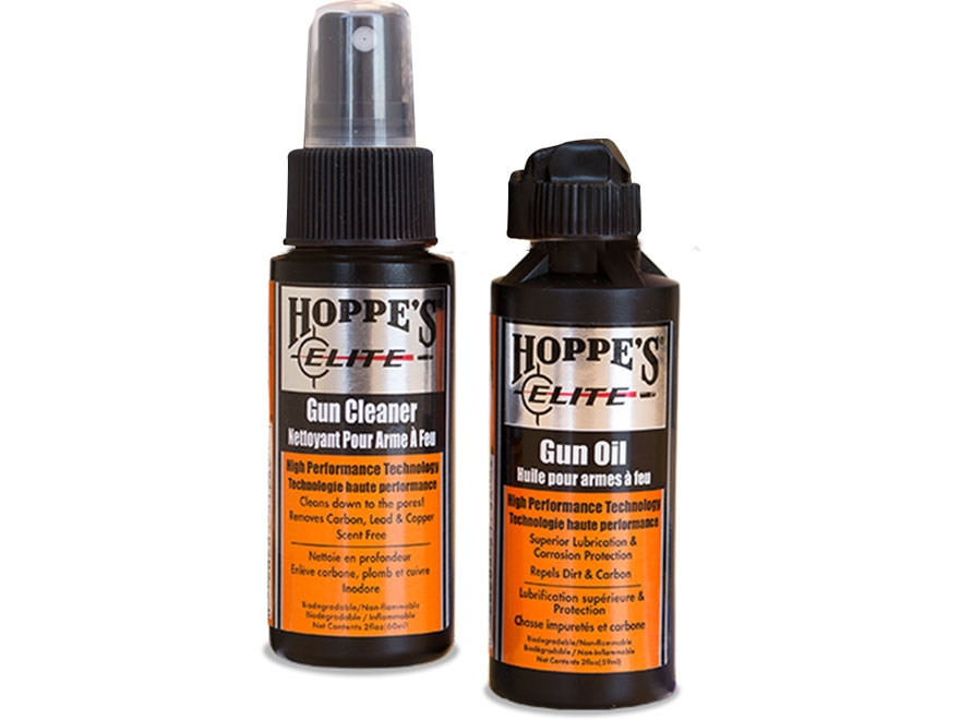Hoppe's Elite Starter Kit with 2 oz Elite Gun Cleaner and 2 oz Elite Gun Oil