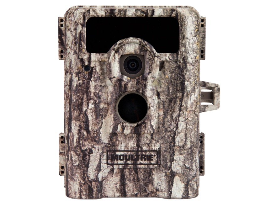 Moultrie D-555i Black Flash Infrared Game Camera 8.0 Megapixel with Viewing Screen Moul...