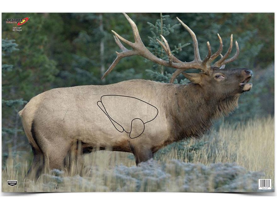 "Birchwood Casey Eze-Scorer Elk Targets 23"" x 35"" Pack of 2"