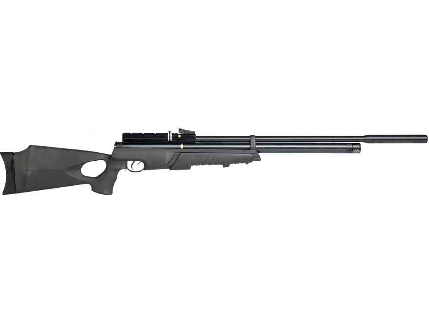 Hatsan AT4410 Long QE PCP Air Rifle Pellet Black Synthetic Stock