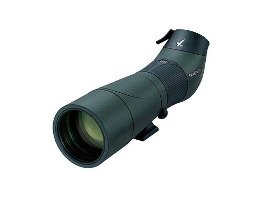 Swarovski ATS-65 HD Spotting Scope 65mm Angled Body Armored Green-Body Only