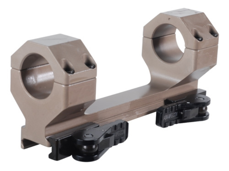 "American Defense Delta 1- Piece Quick Release Scope Mount Picatinny-Style with 1"" Rings..."