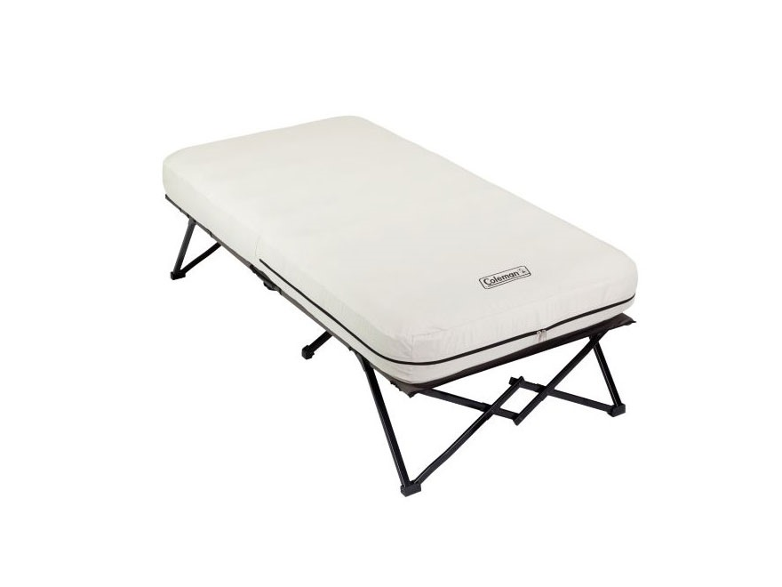 Coleman Camp Cot with Airbed