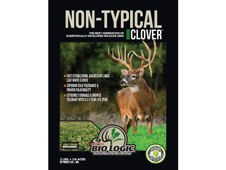 BioLogic Non-Typical Clover Perennial Food Plot Seed