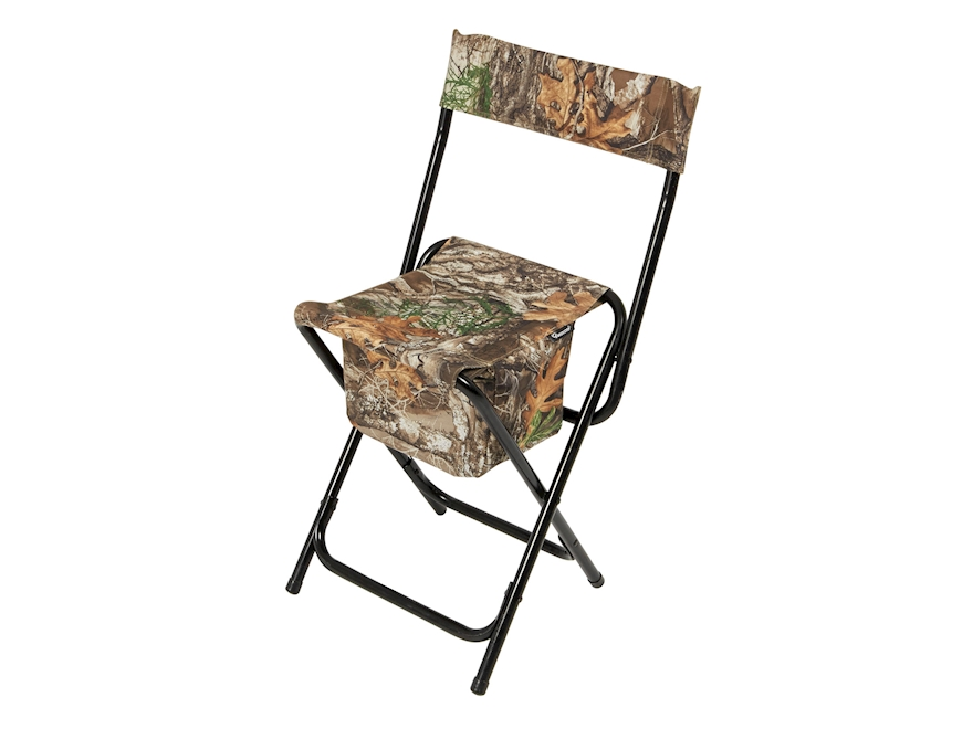 Ameristep High-Back Chair Polyester Realtree Edge Camo