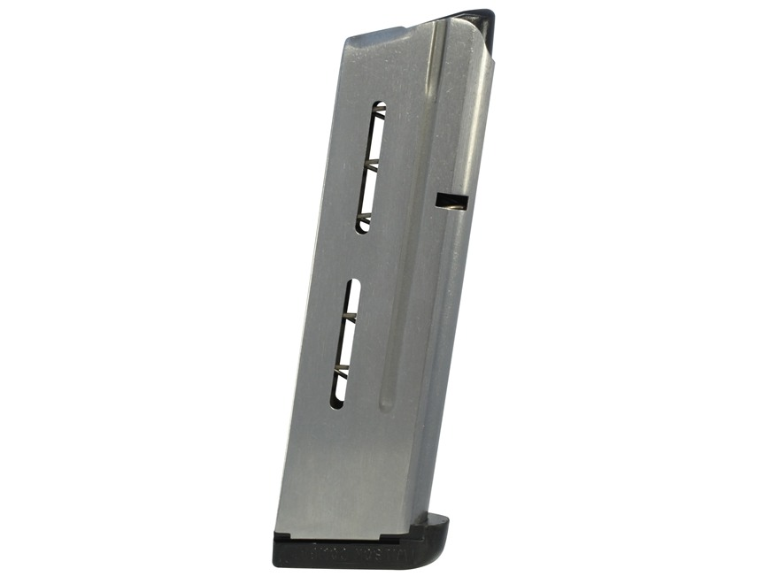 Wilson Combat Magazine with Base Pad 1911 Government, Commander 38 Super 9-Round Stainl...