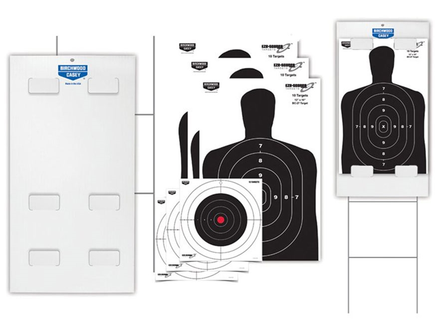 Birchwood Casey Eze-Scorer Target and Tablock Backer Kit