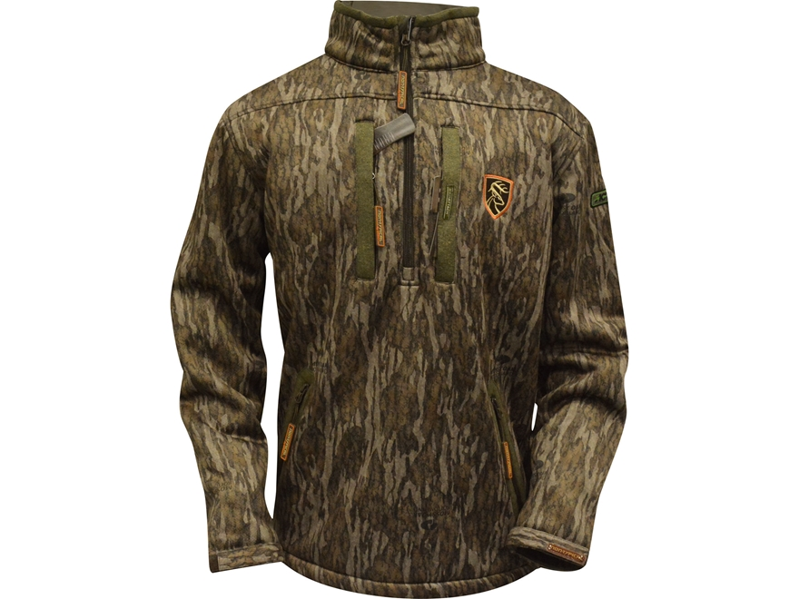 Drake Non-Typical Men's Silencer 1/4 Zip Scent Control Jacket Polyester