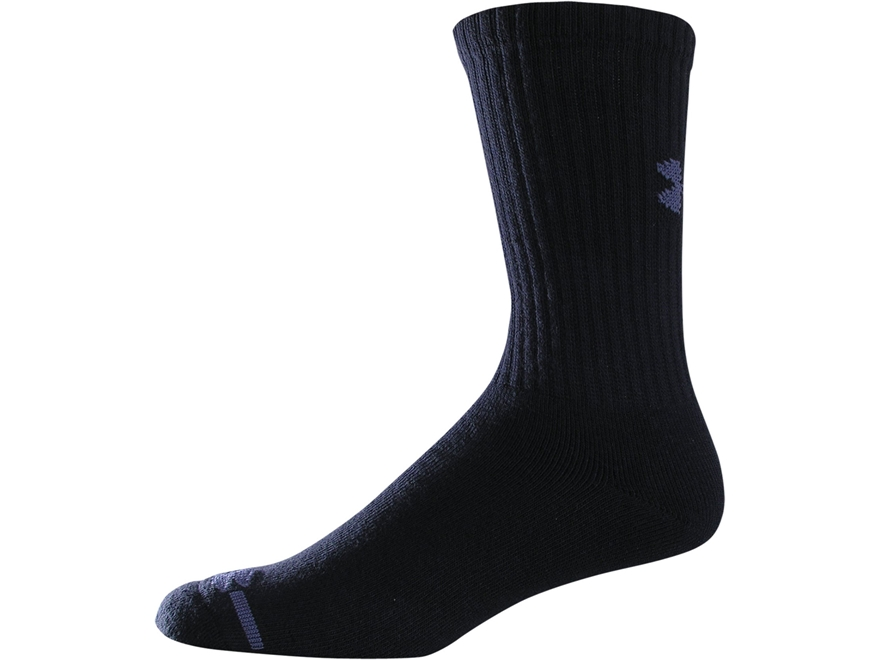 Under Armour Men's Charged Cotton Crew Socks Cotton 6 Pairs