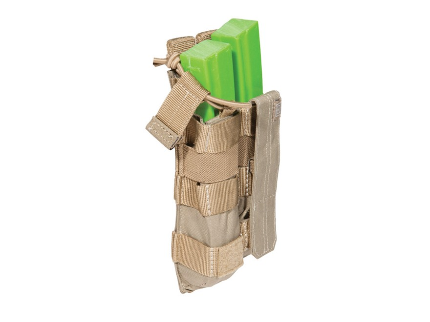 5.11 Double MP5  Magazine Pouch with Bungee Cover Nylon