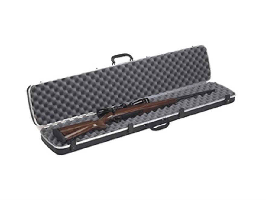 "Plano Gun Guard DLX  Scoped Rifle Case 48.25"" x 4.5"" x 10"" Polymer Black"