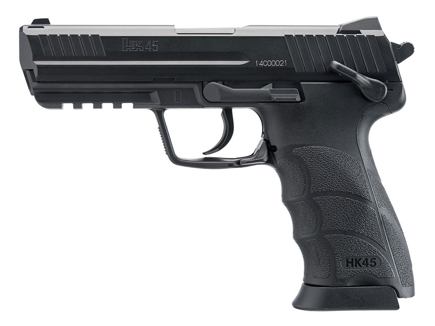 HK 45 Air Pistol 177 Caliber BB Black