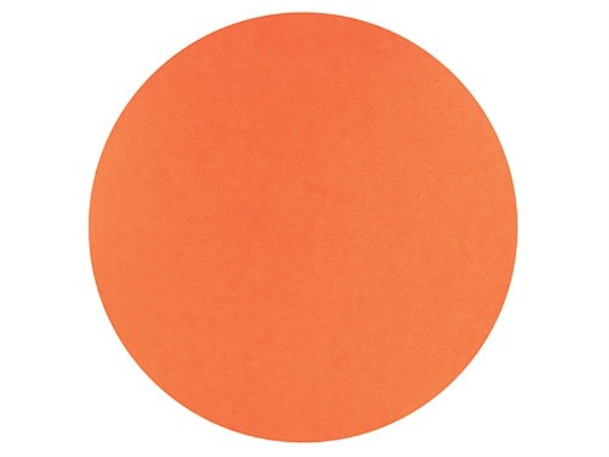 "Hoppe's Bullseye Target Dots 3"" Self-Adhesive Orange Package of 25"
