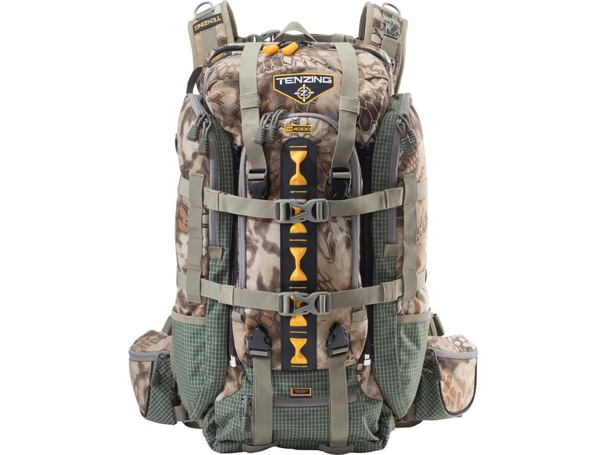Tenzing TZ 4000 Backpack Polyester and Dyneema Kryptek Highlander Camo