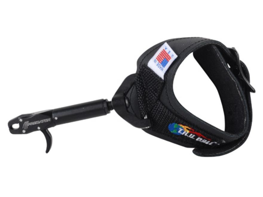 T.R.U. Ball Predator Bow Release Buckle Wrist Strap Black