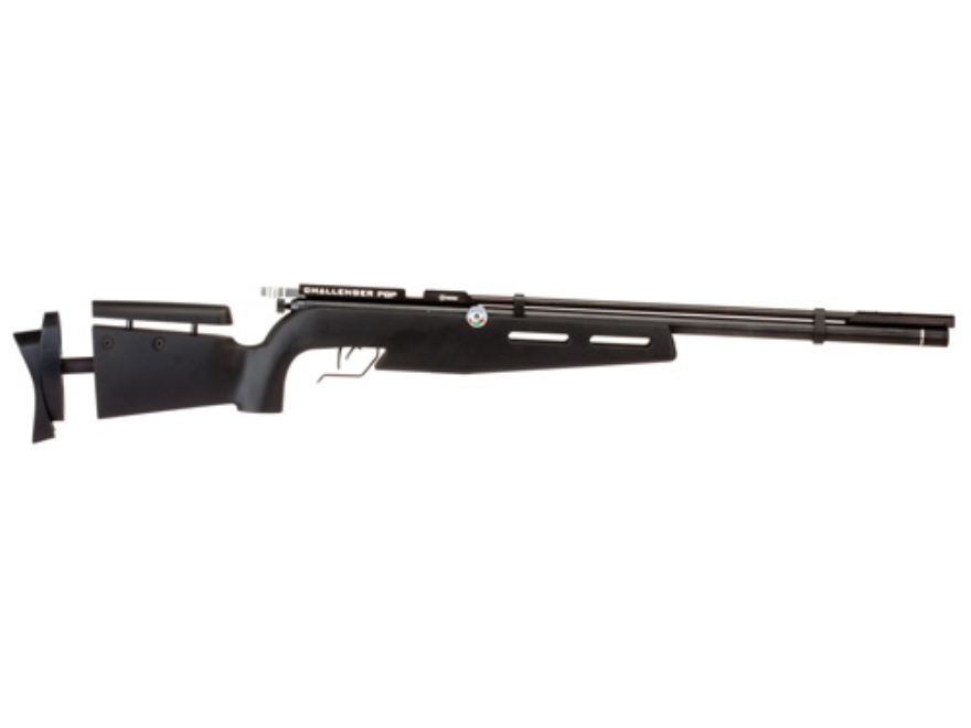 Crosman PCP Challenger Competition Air Rifle 177 Caliber Pellet Polymer Stock Black Blu...