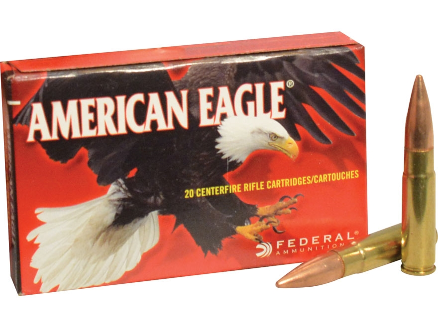 Federal American Eagle Ammunition 300 AAC Blackout 150 Grain Full Metal Jacket