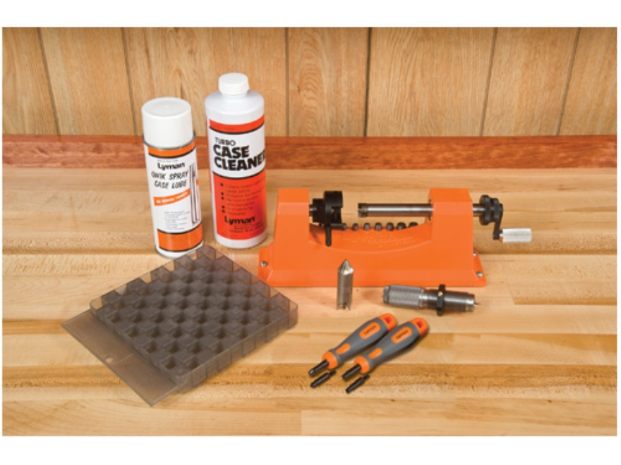 Lyman Universal Case Trimmer Kit Plus Case Conditioning Kit