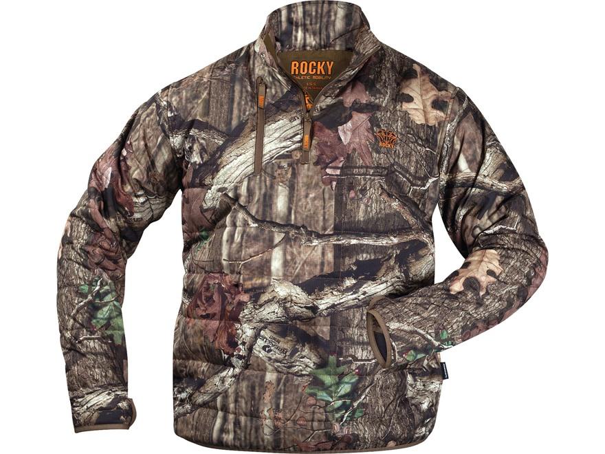 Rocky Men's L2 PrimaLoft 1/4 Zip Insulated Jacket Polyester