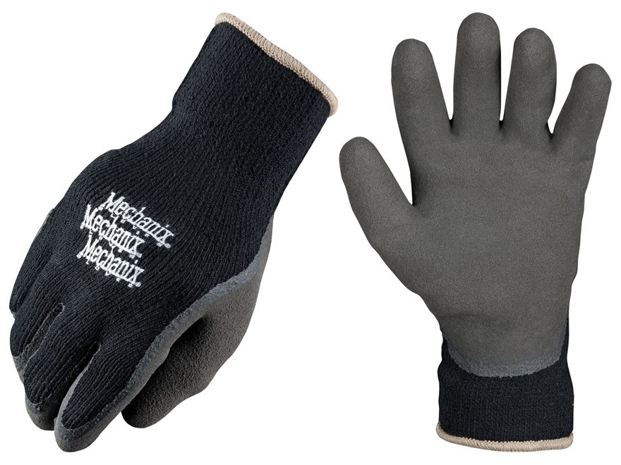 Mechanix Wear Thermal Knit Cold Weather Gloves Synthetic Blend Black