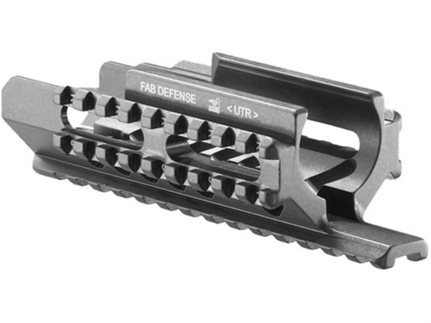 FAB Defense Tri-Rail Handguard UZI Aluminum Black