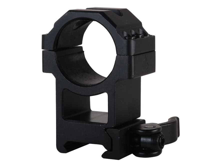 Leapers UTG 30mm Max Strength Tactical 6-Hole Quick Detachable Picatinny-Style Ring Matte