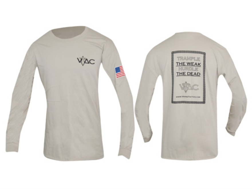 VTAC Long Sleeve Shirt XL Cotton Pebble