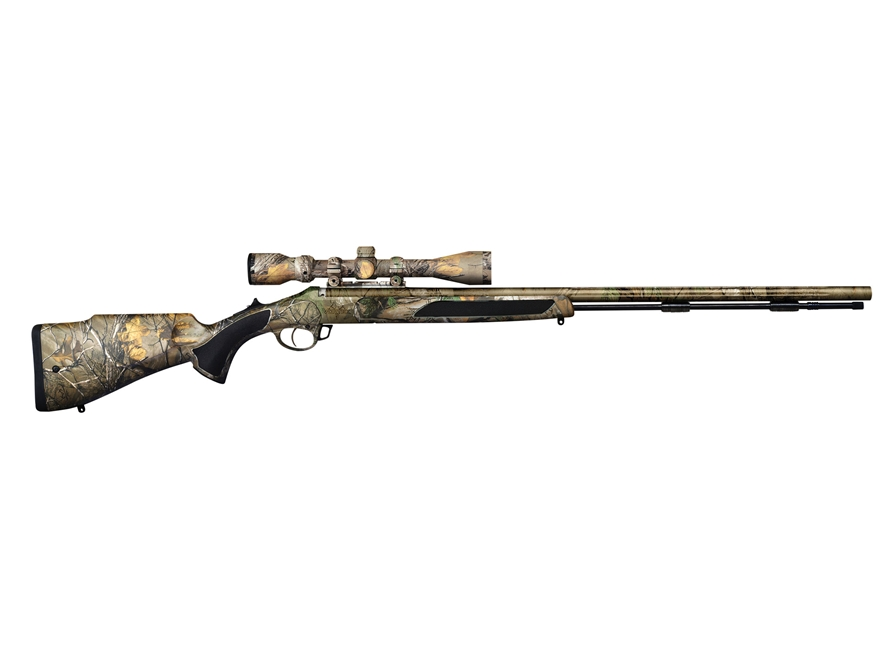 Traditions Vortek Strikerfire LDR Muzzleloading Rifle with 3-9x 40mm Rangefinding Scope...