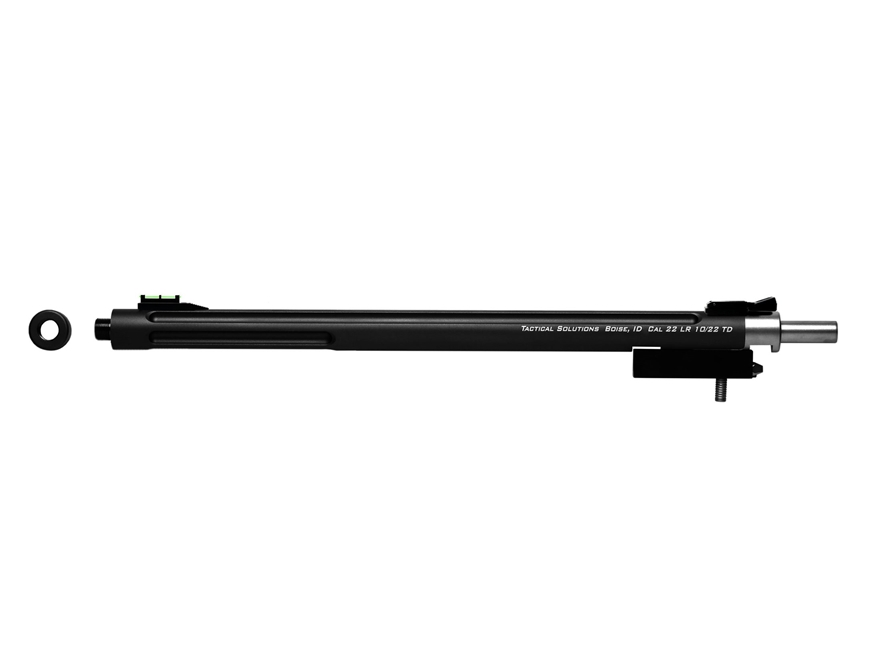 """Tactical Solutions X-Ring Barrel Ruger 10/22 Takedown 22 Long Rifle .920"""" Diameter 1 in..."""