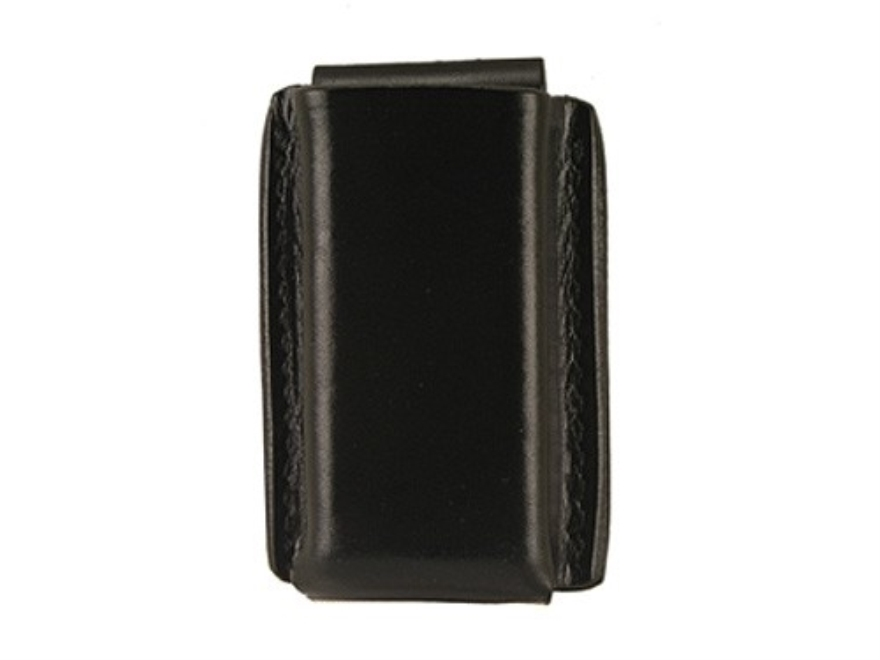 Galco Quick Single Magazine Pouch 45 ACP, 10mm Glock Double Stack Magazine Leather Black