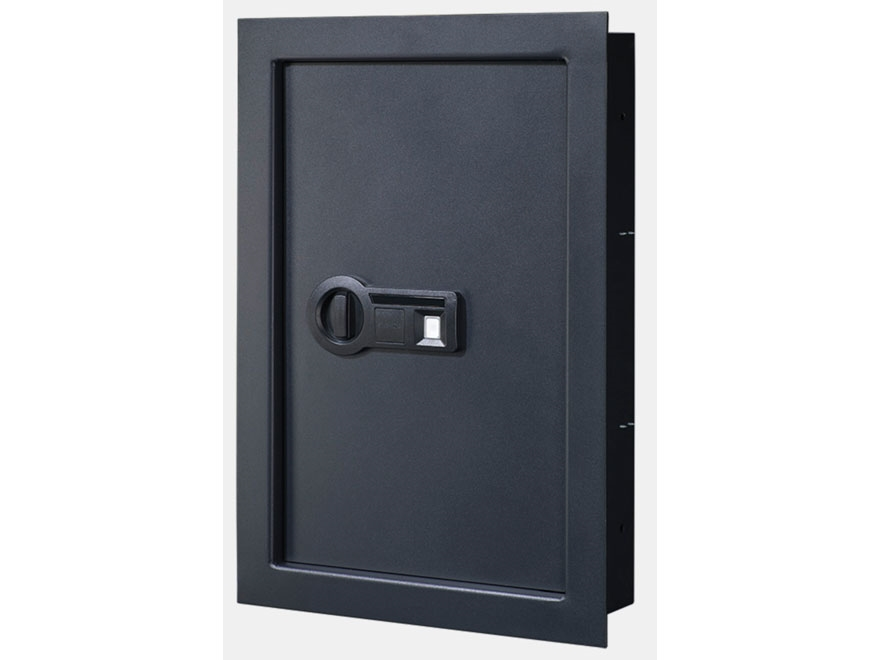 Stack-On Strong Box In-Wall Safe with Biometric Electronic Lock
