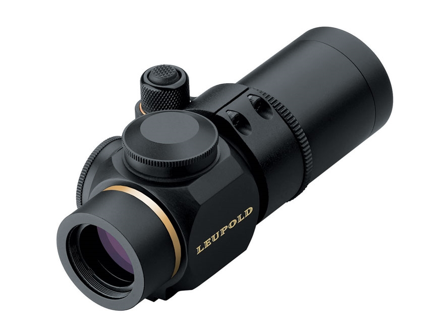 Leupold Prismatic Hunting Rifle Scope 30mm Tube 1x 14mm Illuminated Circle Plex Reticle...