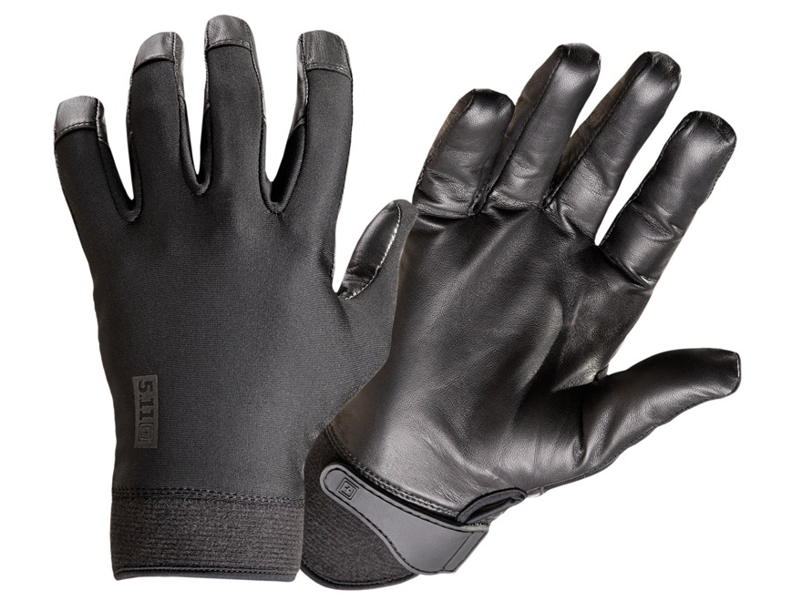 5.11 Taclite2 Gloves Leather and Lycra Medium Black